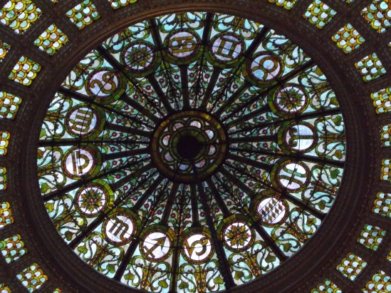 Notre Dame Basillica, Chicago Window